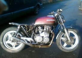 Honda CB650z BREAKING