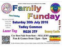 Paw Patrol are visiting the EJ Charity Fun Day & Car Boot - 30th July 2016