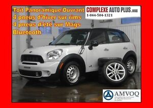 2011 Mini Cooper Countryman S ALL4 AWD *Toit pano. 8pneus