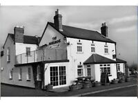 Chef required for food led rural pub, with evolving menu. Split shift, own transport required