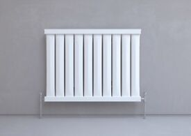 KUDOX ELMAS DESIGNER RADIATOR SATIN WHITE 600X810MM