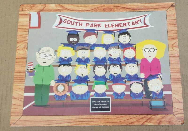 South Park Elementary Class Picture 4th Grade PROMO Comedy Central 2000 Kenny