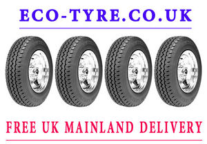 4X Tyres 175 R16C PROFIL envirotech londonTAXI New Remould
