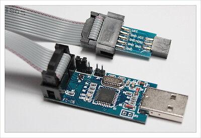 6 Pin 10 Pin Usbasp Usb Isp Icsp Programmer Arduino Mmc Atmega8 Stk500 Avr-isp