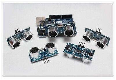 2pc Hc-sr04 Ultrasonic Distance Measuring Transducer Sensor Module Arduino