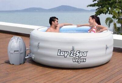 """Bestway Whirlpool Lay-Z-SPA """"Vegas"""" 54112 grau"""