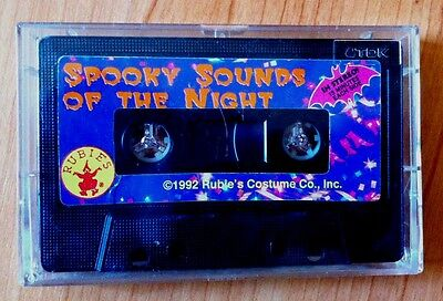 Rubie's SPOOKY SOUNDS OF THE NIGHT: HALLOWEEN MUSIC & SOUND EFFECTS! VERY RARE!!