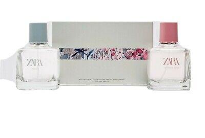 Zara Orchid/Wonder Rose EDT Perfume 2 x 100ml. Brand New & Sealed.