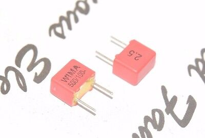 10pcs - Wima Fkp2 500p 500pf 05nf 100v 2.5 Pitch5mm Capacitor