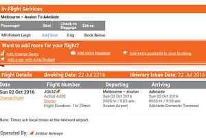 Melbourne to Adelaide flight Craigburn Farm Mitcham Area Preview