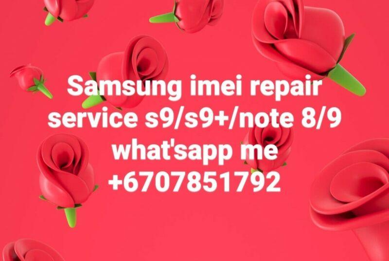 Remote IMEI repair Service Samsung Galaxy S9+/ S9!!!!