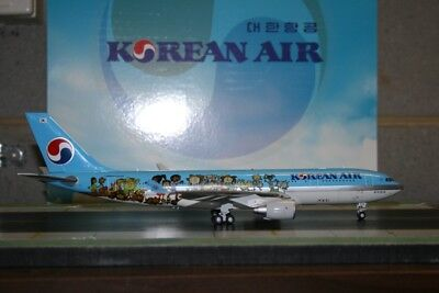 JC Wings 1:200 Korean Air Airbus A330-200 HL8212 Children''s Drawing LH2085
