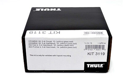 08–15 STOCK CLEARANCE 4-dr Sedan THULE FITTING KIT 1462 AUDI A4