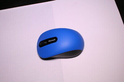 Microsoft Bluetooth Mobile Mouse 3600  Blue PN7-00011 Refurbish, Tested.