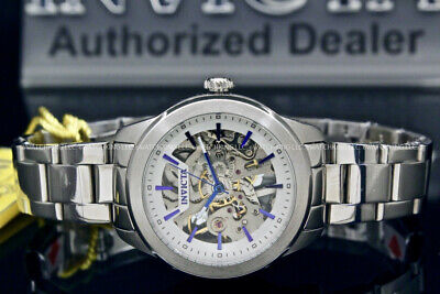 Invicta Women Vintage Mechanical Skeletonized Dial Automatic Stainless Steel Wat