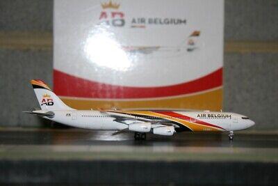 JC Wings 1:400 Air Belgium Airbus A340-300 OO-ABA XX4420 Die-Cast Model Plane