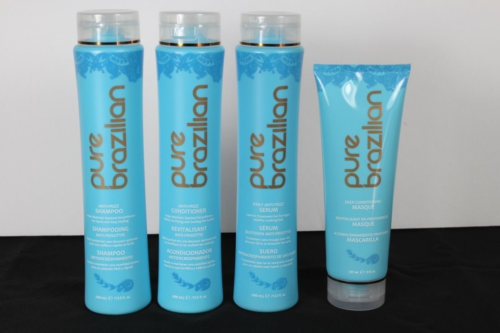 Pure Brazilian Shampoo, Conditioner, Serum & Masque - FREE S