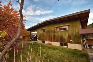 Well built home in South Castlegar with water views
