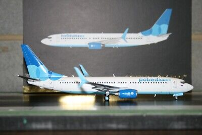 Gemini Jets 1:200 Pobeda Boeing 737-800 VP-BPJ (G2PBD561) Die-Cast Model Plane
