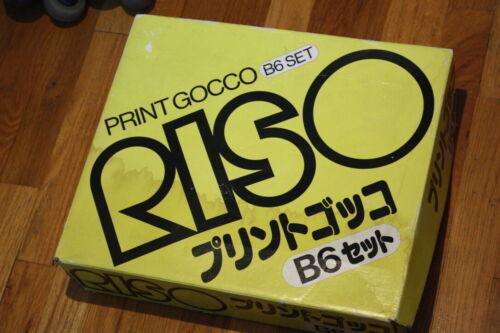 RISO Print GOCCO B6 Printer  Japanese Printing on Box