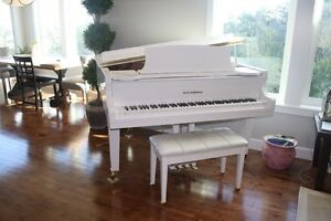 Dh Baldwin baby grand piano