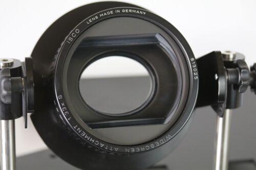 ISCO Anamorphic Video Attachment III IIIS 1.33x Lens + CineSlide CSII Transport