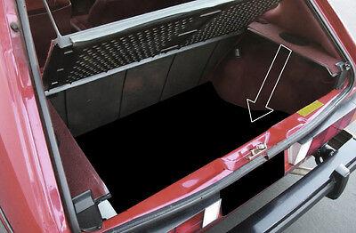 Verkleidung Pappe Kofferraum Kofferraumboden VW Golf 1 MK1 Limousine Teppich GTI online kaufen
