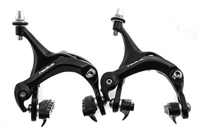 Promax Radius Road Bike Caliper Brakeset Front + Rear Black Aluminum NEW