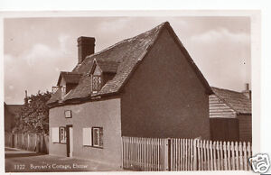 Bedfordshire-Postcard-Bunyans-Cottage-Elstow-X765
