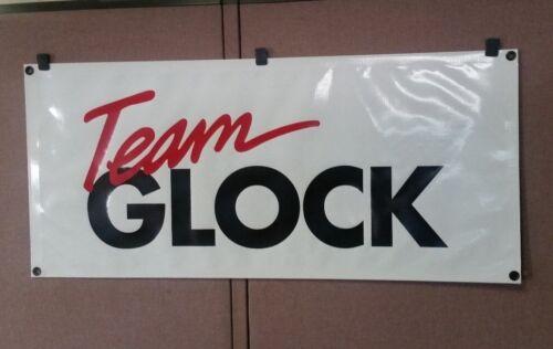 Large NEW Team Glock Banner (never folded)