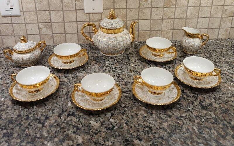 Vintage Bavaria Tea Set. Beautiful Condition! Never Used. 15 pieces