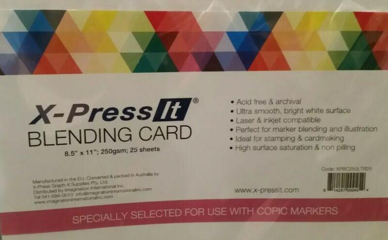 X-press It Blending Card Paper Pack