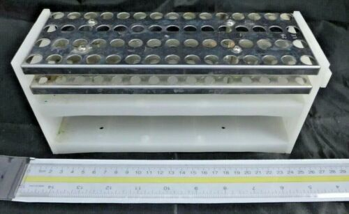 GILSON Fraction Collector Rack, Code 29, Holds 60 1.5 mL Microcentrifuge Tubes
