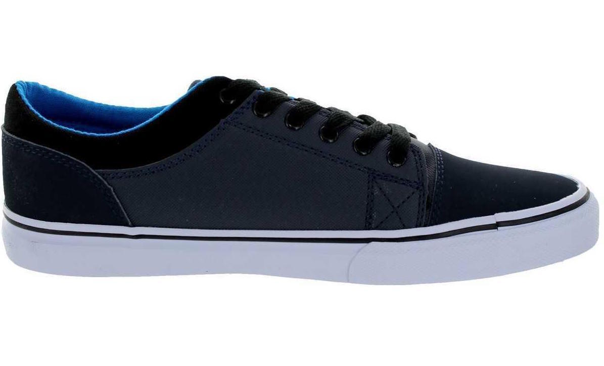 d7720cc65ac7 Details about Adio KICK Skate Shoe Mens Trainers Black White choice of size  50% OFF