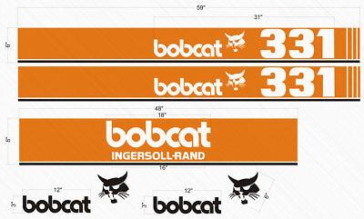 Bobcat Decal Decals For Bobcat 331 Digger