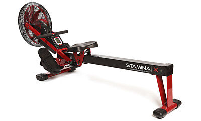 Stamina X AIR ROWER Rowing Machine 35-1412 - Cardio Exercise - UPGRADED NEW 2018