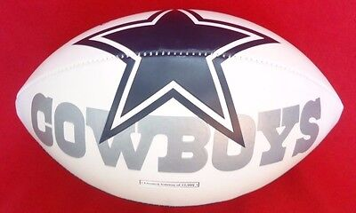 Marion Barber Autographed Signed Dallas Cowboys NFL Limited Edition Football  Barber Autographed Nfl Football