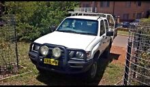 2003 Toyota Hilux 4x4 DIESEL 4WD SR MANUAL UTE NON TURBO CHEAP Lansvale Liverpool Area Preview