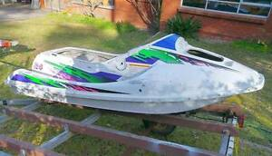 Jet Ski hull cool boat project ex Kawasaki 750 X-4 Hornsby Hornsby Area Preview