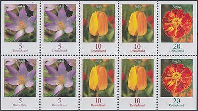 BRD/Bund ZD-Kleinbogen Blumen aus 2007 postfrisch (N-045)