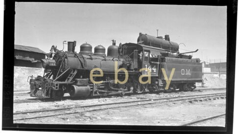 Locomotive #144 O.M. ? - B&W Positive Film