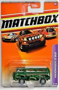 Matchbox 1/64 Volkswagen T2 Bus Diecast Car