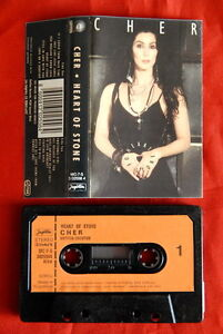 CHER-HEART-OF-STONE-1989-RARE-EXYU-CASSETTE-TAPE