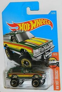 Hot Wheels 1/64 Chevy Blazer 4x4 Diecast Car