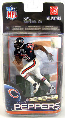 NFL Series 25 Julius Peppers Chicago Bears 6in Action Figure McFarlane Toys