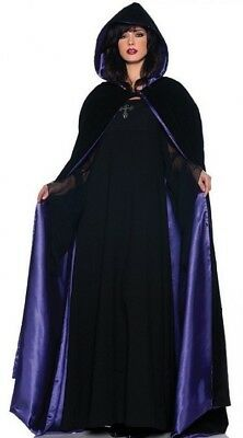 Cloak Velvet Hooded 63