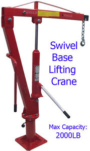 1-Ton-Swivel-Lift-Lifting-Davit-Crane-Lift-Hoist-Pickup-Truck-1000-2000-LBS-Cap