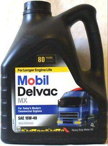 Mobil delvac engine motor oil 15w40 15 w 40 15w 40 man for How long does motor oil last