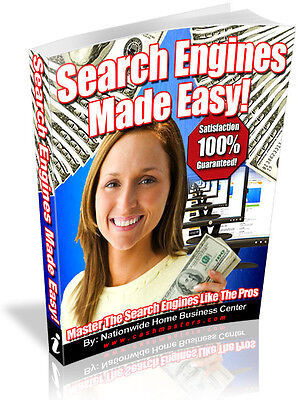 Search Engines Made Easy  Pdf Ebook Free Shipping Resale Rights
