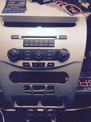 Ford MUSTANG  FOCUS, RADIO AND BEZEL FORD, FROM 2010-12 MODELS, AS4T-19C107-AA